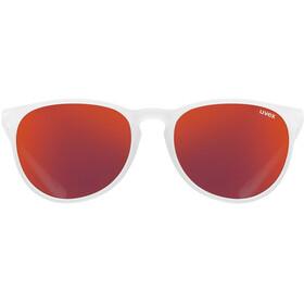 UVEX LGL 43 Gafas, white mat/mirror red